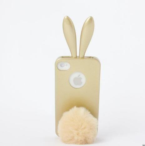 Rabito Bunny Case за iPhone 5 -  златист - 1