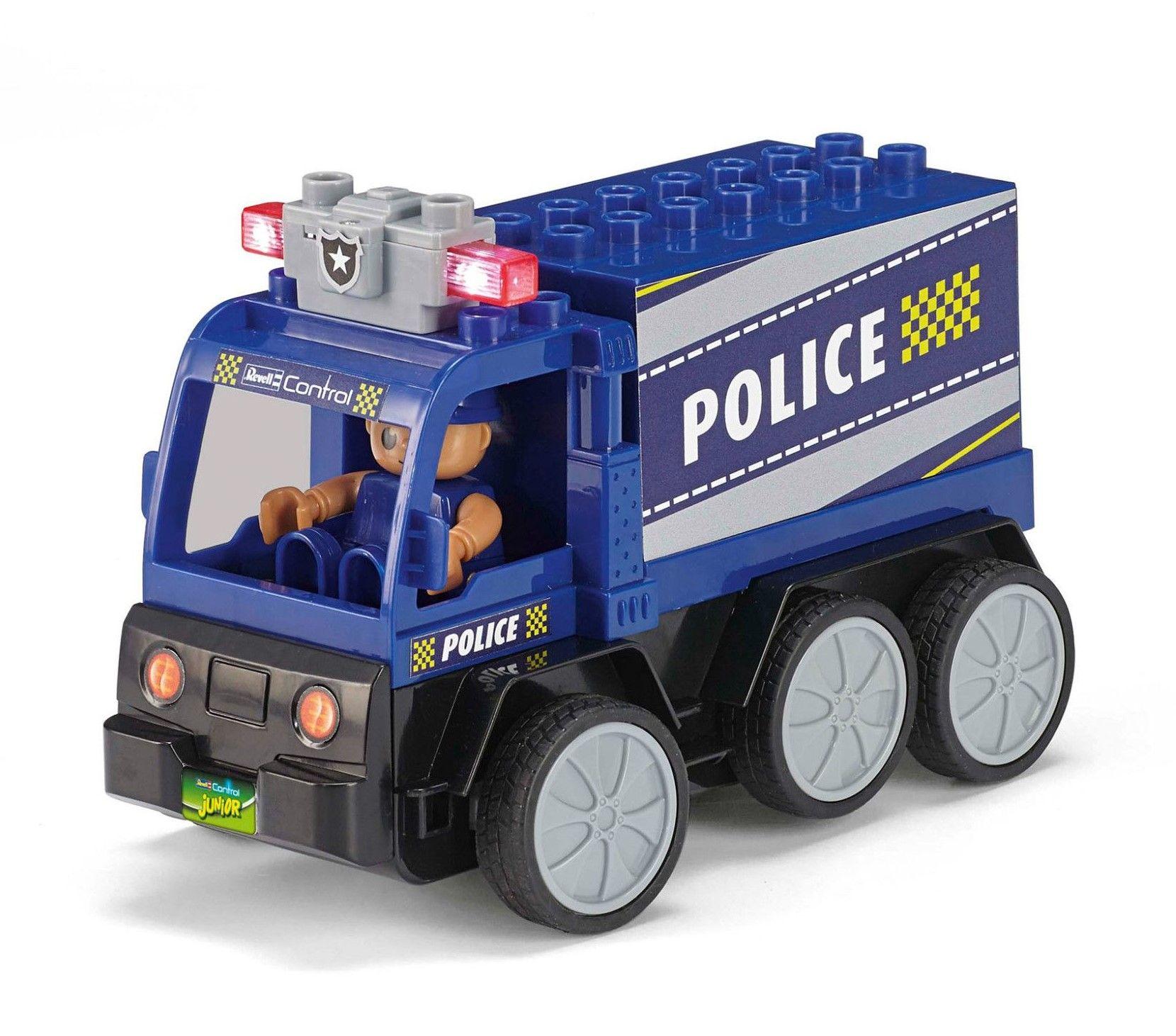 Радиоуправляем автомобил Revell Junior - Полицейски камион - 3