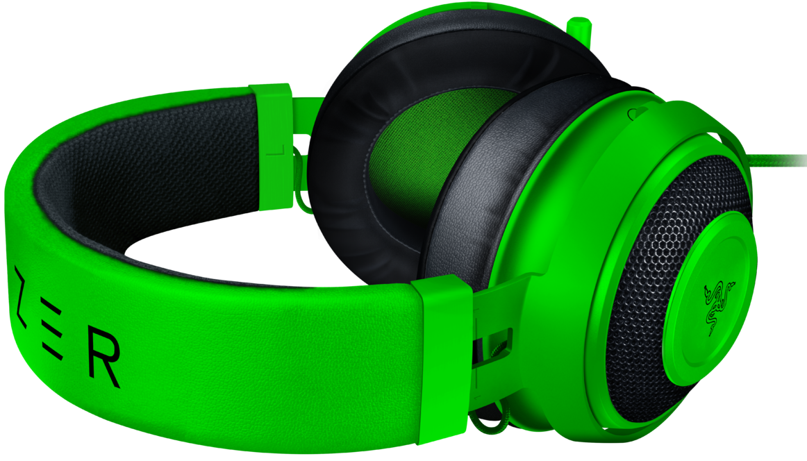 Гейминг слушалки Razer Kraken - Multi-Platform, зелени - 1