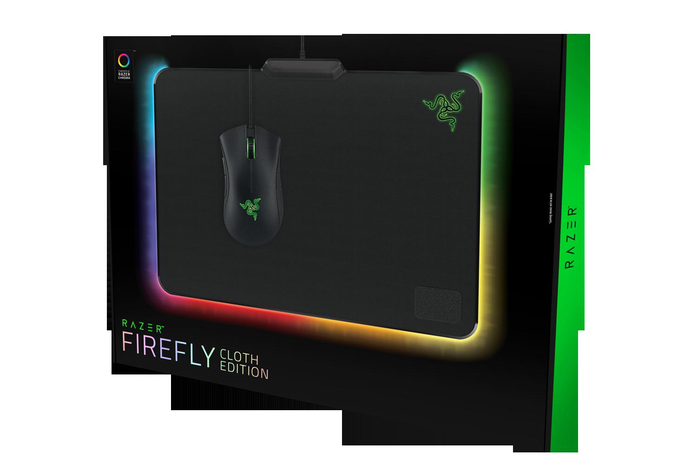 Гейминг подложка за мишка Razer Firefly Cloth Edition - 4