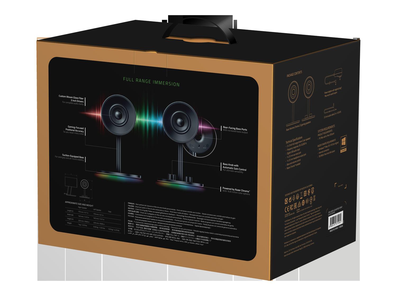 Аудио система Razer Nommo Chroma - 2