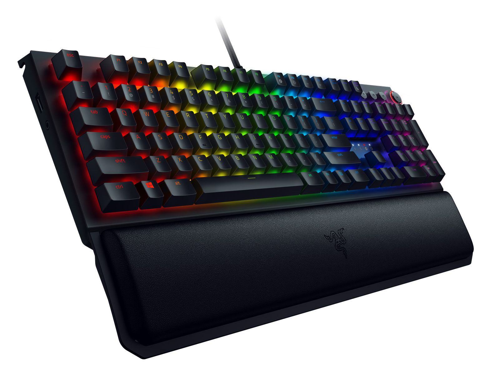 Механична клавиатура Razer BlackWidow Elite Yellow Switch - 8