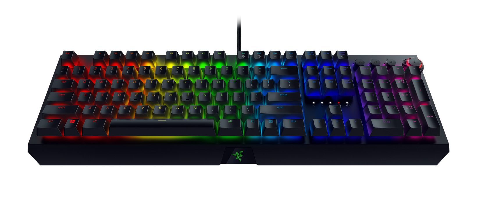 Механична клавиатура Razer BlackWidow Elite Orange Switch - 5