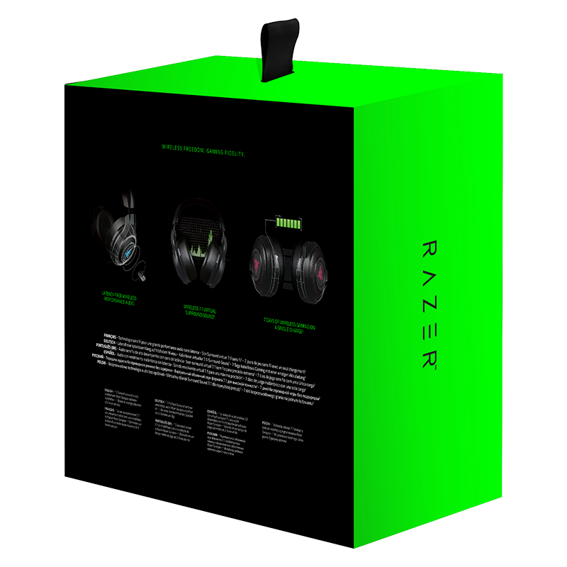 Гейминг слушалки Razer ManO'War Wireless - 7