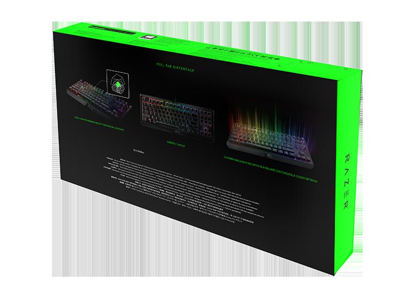 Механична клавиатура Razer BlackWidow X Tournament Edition Chroma - 7