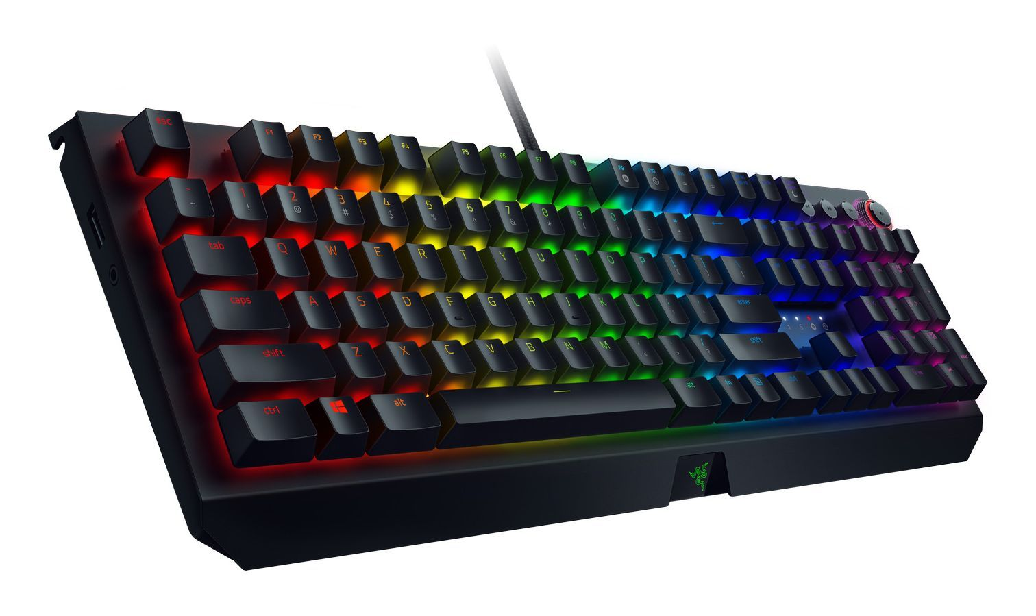 Механична клавиатура Razer BlackWidow Elite Orange Switch - 4