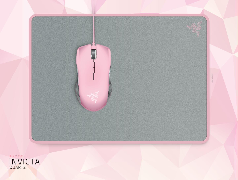 Гейминг подложка за мишка Razer Invicta Quartz Ed. - 4