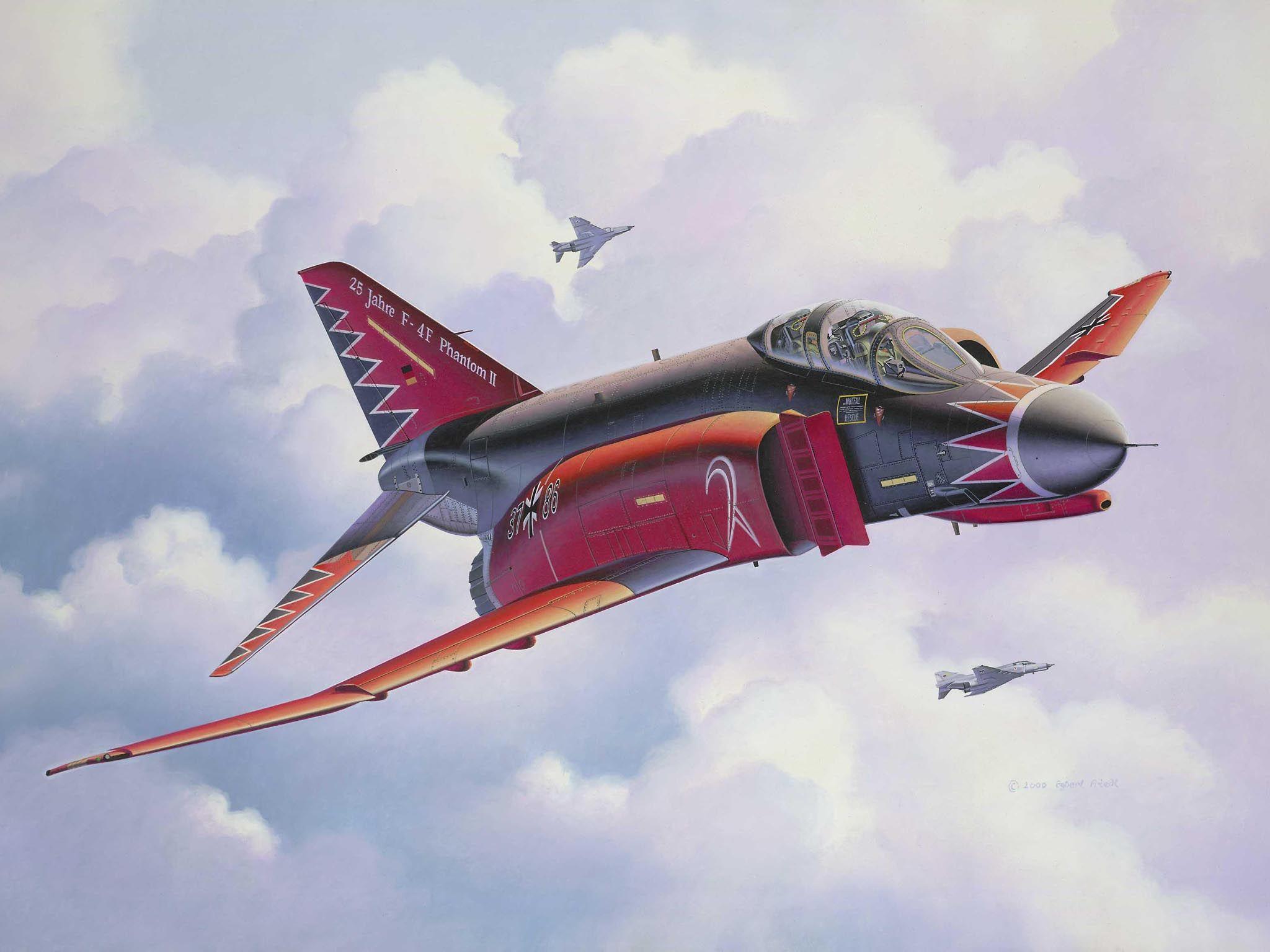 Сглобяем модел на изтребител Revell - F-4F Phantom II (04615) - 2