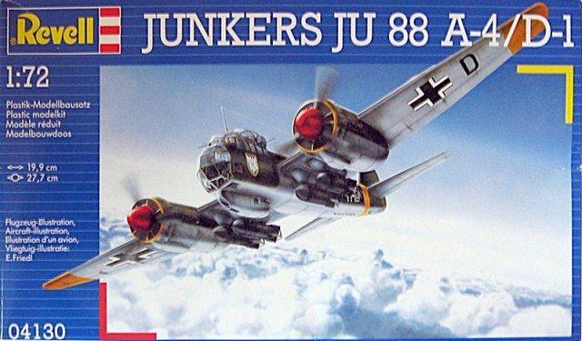 Сглобяем модел на военен самолет Revell - Ju 88 A-4/ D-1 (04130) - 1