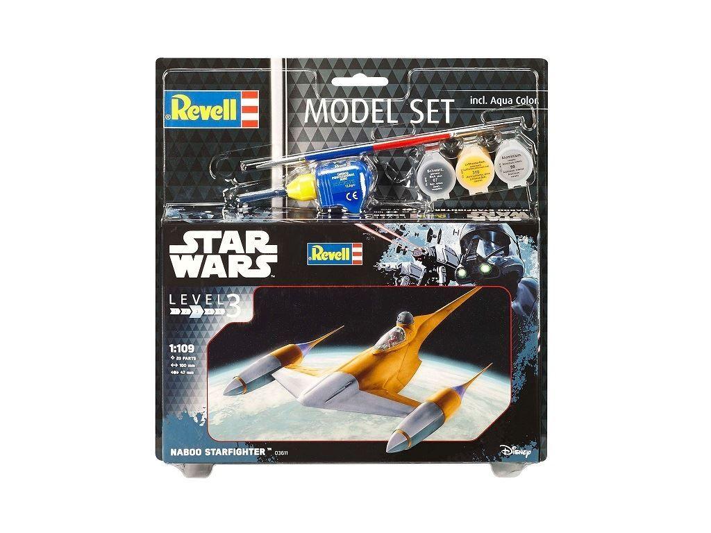 Сглобяем модел Revell - Naboo Starfighter - 2