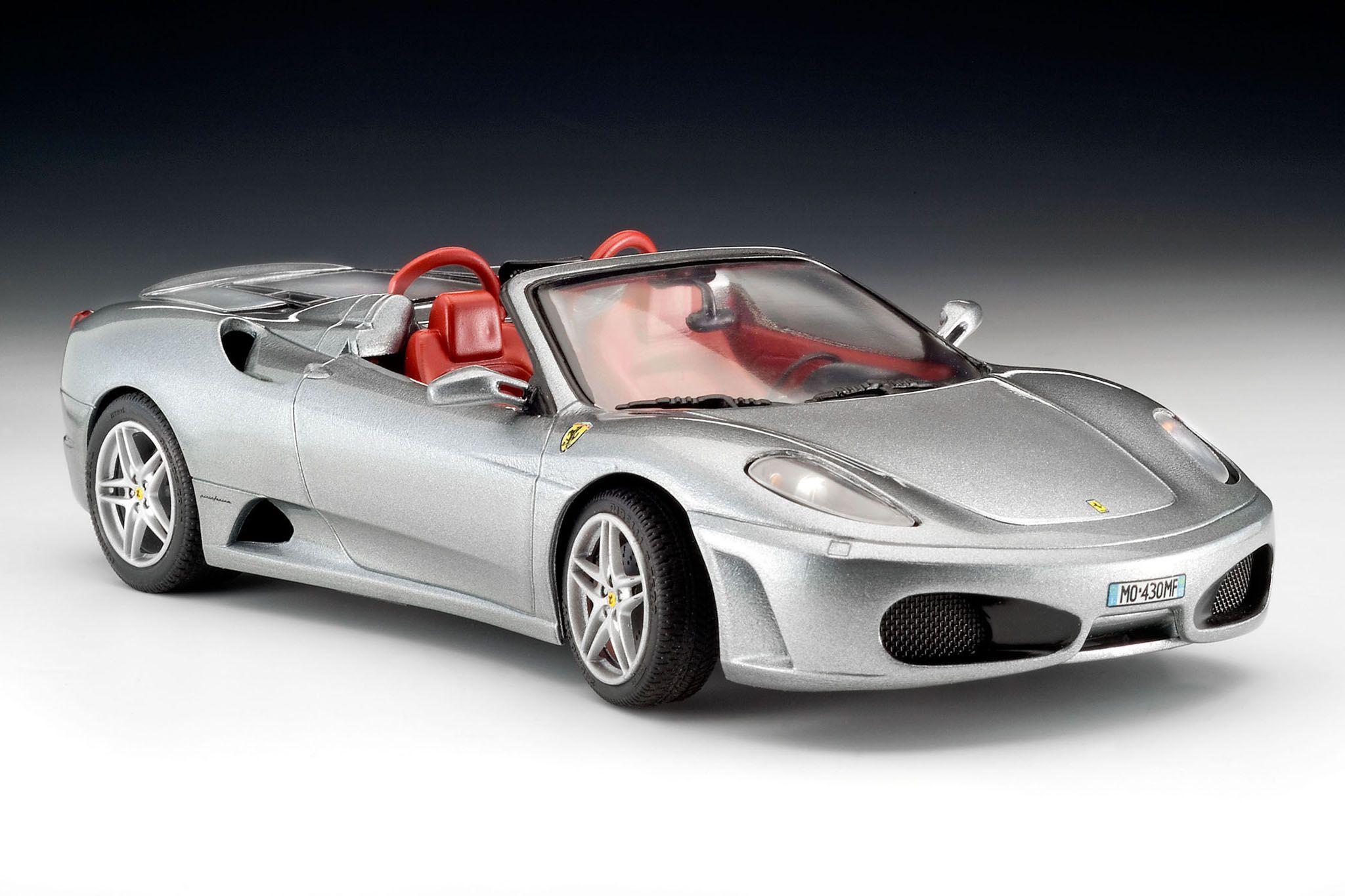 Сглобяем модел на автомобил Revell - Ferrari F430 Spider (07380) - 2
