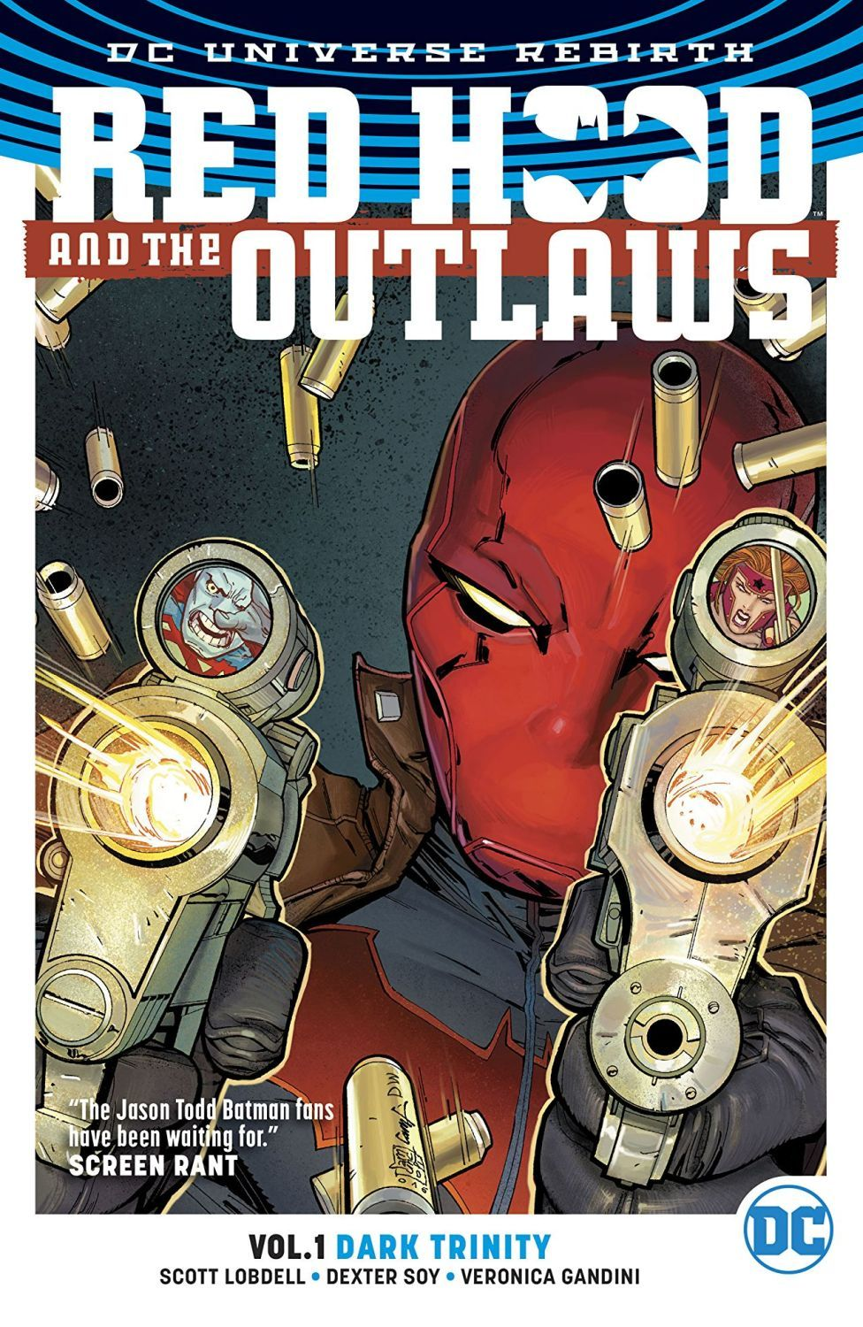 Red Hood and the Outlaws Vol. 1: Dark Trinity (DC Universe Rebirth) - 1