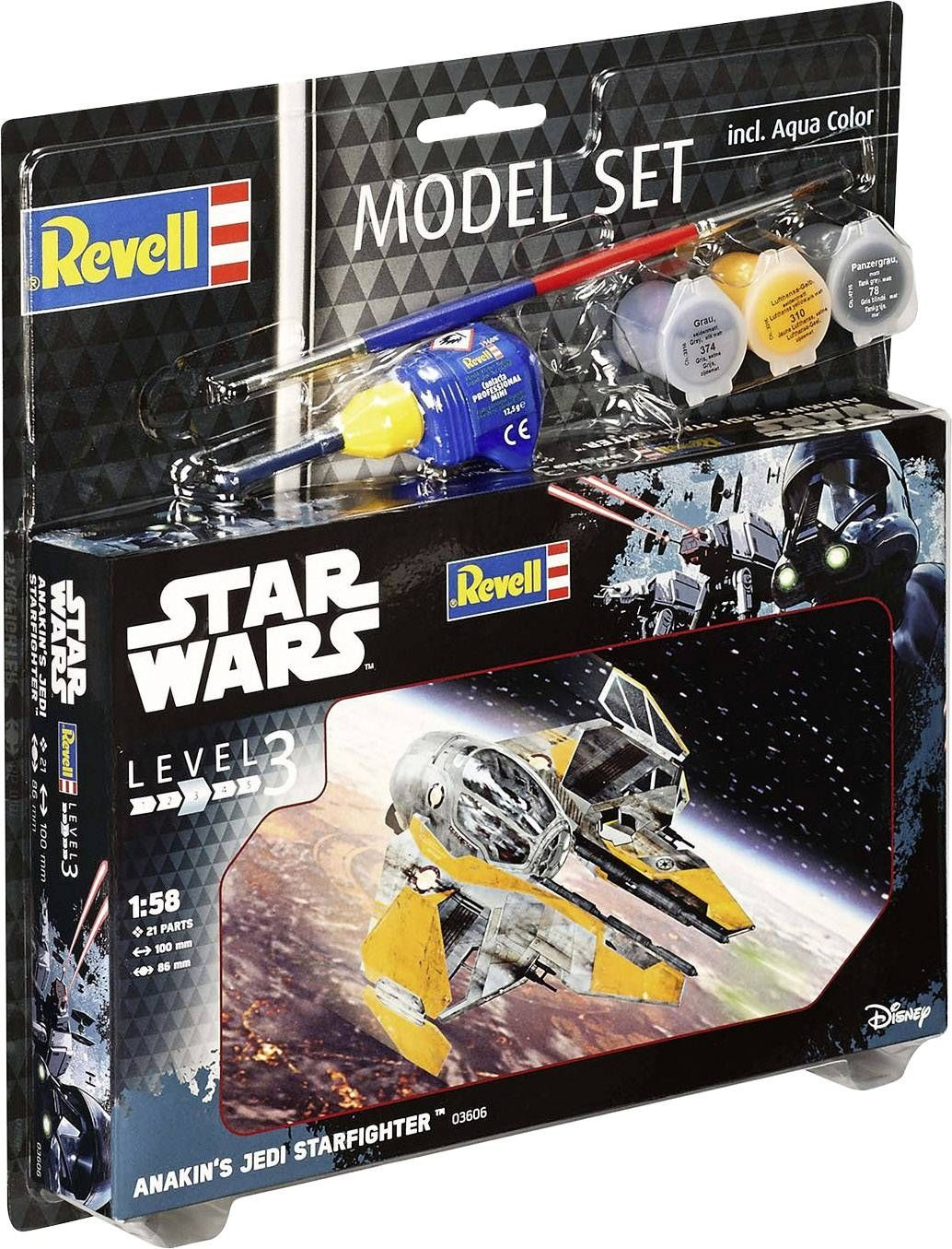 Сглобяем модел Revell - Anakin's Jedi Starfighter - 2