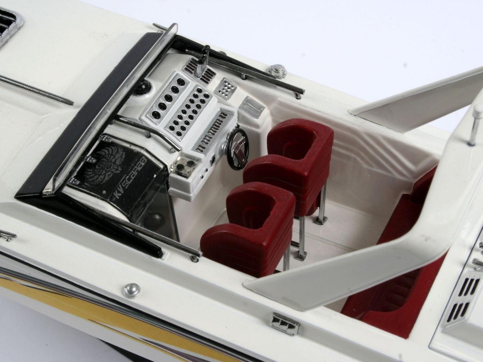 Сглобяем модел на лодка Revell - Power boat (05205) - 2