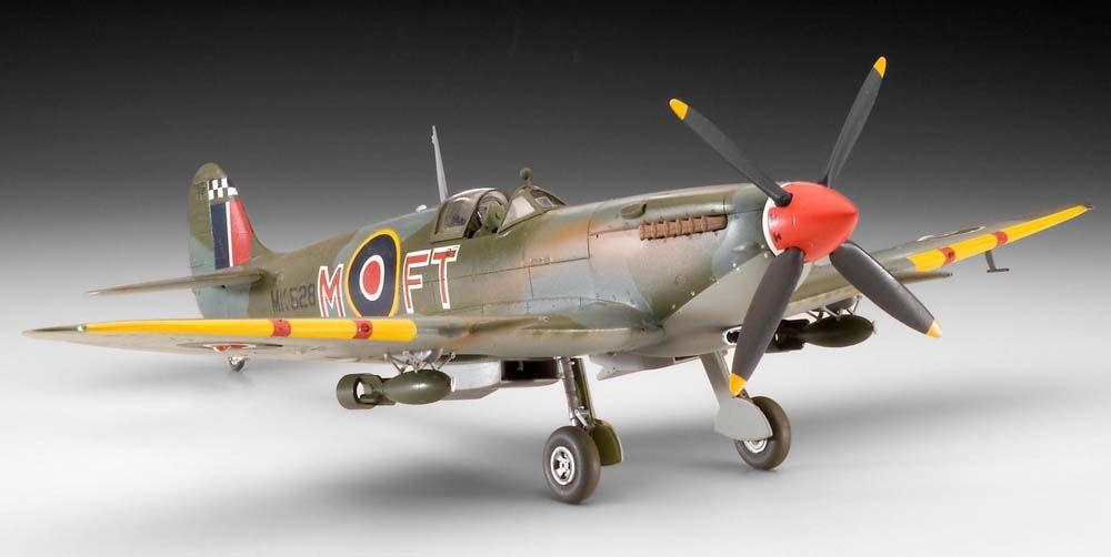 Сглобяем модел на военен самолет Revell - Supermarine SPITFIRE Mk.IX/XVI (04554) - 3