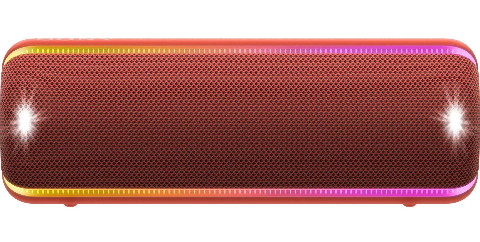 Мини колонка Sony - SRS-XB32, червена - 2