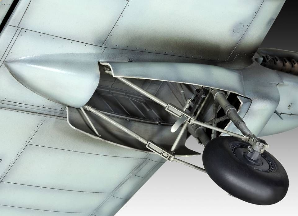 Сглобяем модел на военен самолет Revell Heinkel - He 111 H-6 (4836) - 5