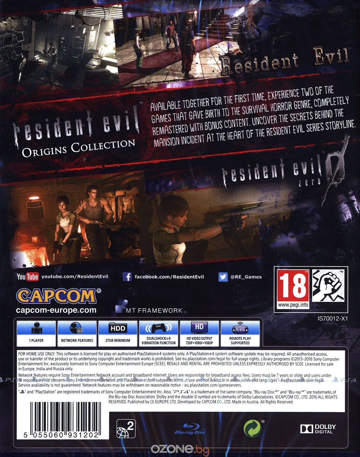 Resident Evil Origins Collection (PS4) - 17