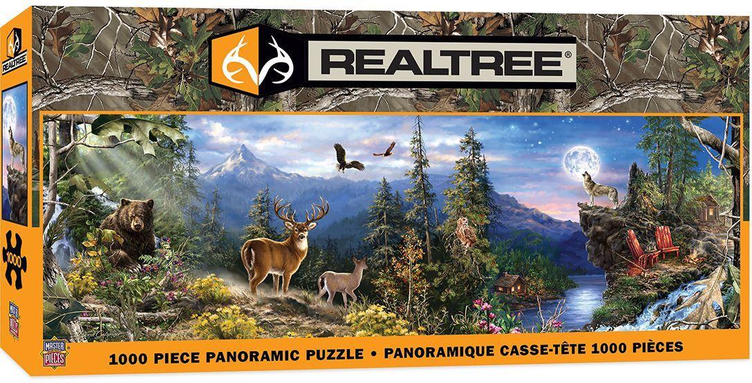 Панорамен пъзел Master Pieces от 1000 части - Животни - 1