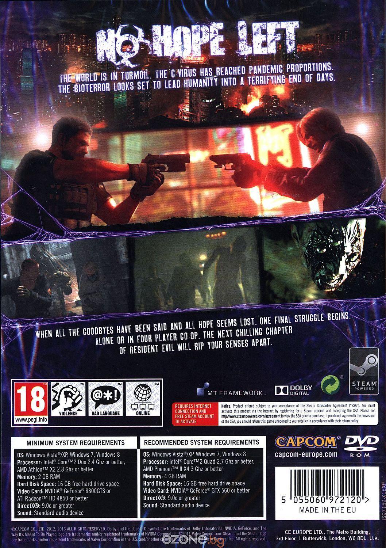 Resident Evil 6 (PC) - 10
