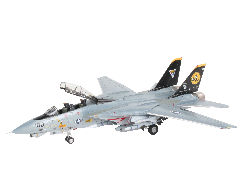 Сглобяем модел на военен самолет Revell - F-14D Super Tomcat Last Flight (04195) - 1