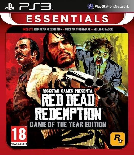 Red Dead Redemption GOTY - Essentials (PS3) - 1