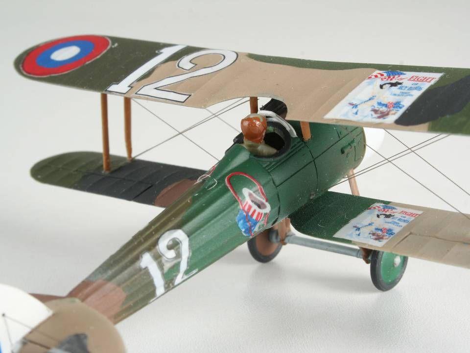 Сглобяем модел на военен самолет Revell - Nieuport N.28 C-1 (04189) - 3