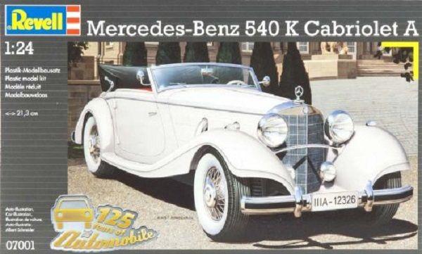 Сглобяем модел на автомобил Revell - Mercedes-Benz 540 K Cabriolet (07001) - 3