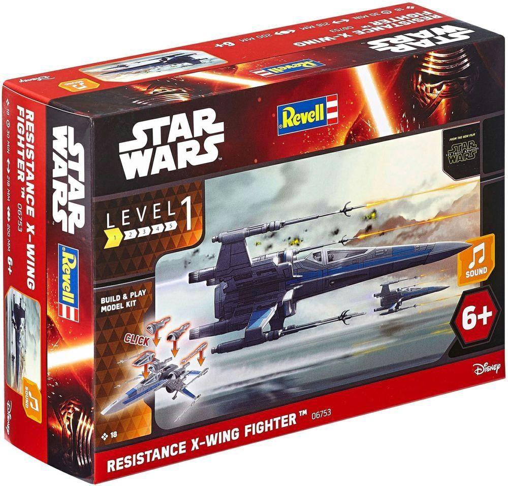 Сглобяем модел Revell - Resistance X-Wing Fighter - 2