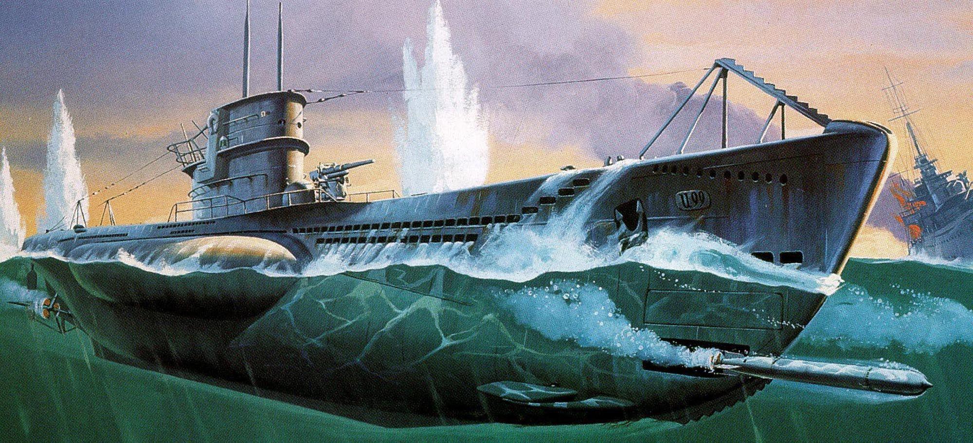Сглобяем модел на подводница Revell - U99 U-Boat (05054) - 1