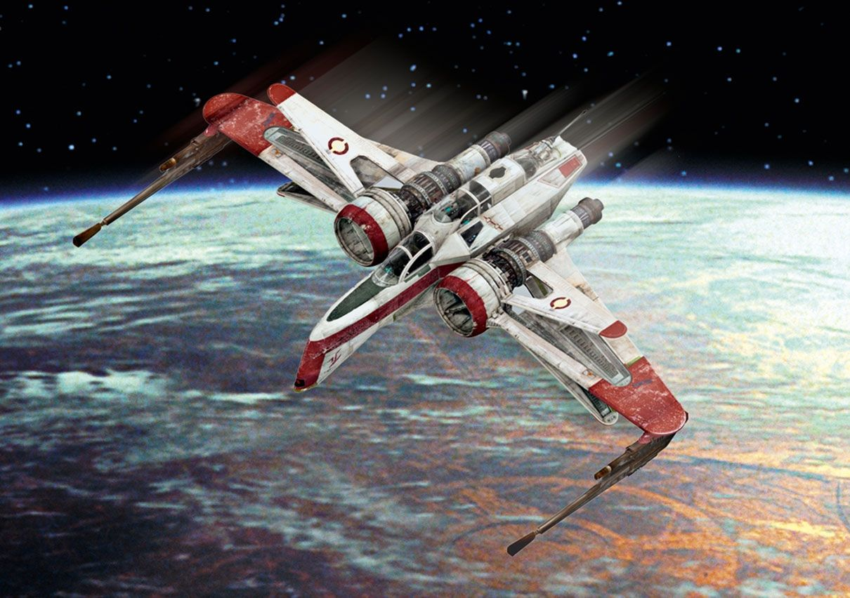 Сглобяем модел Revell - ARC-170 Clone Fighter - 3