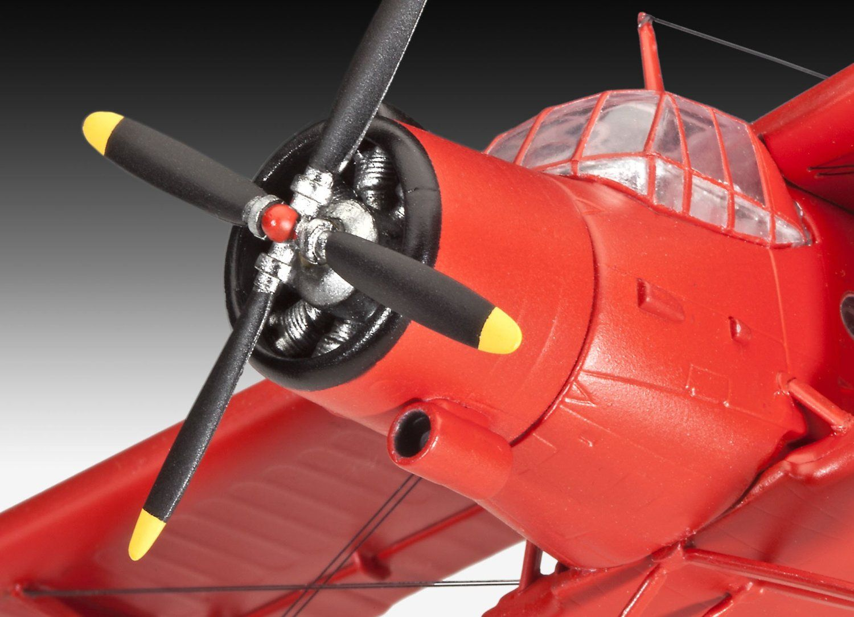 Сглобяем модел на самолет Revell Antonov - An-2 Colt (04667) - 3