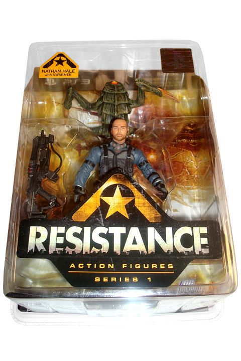 Resistance Series 1 Action Figure Nathan Hale with Swarmer 18 cm - 2