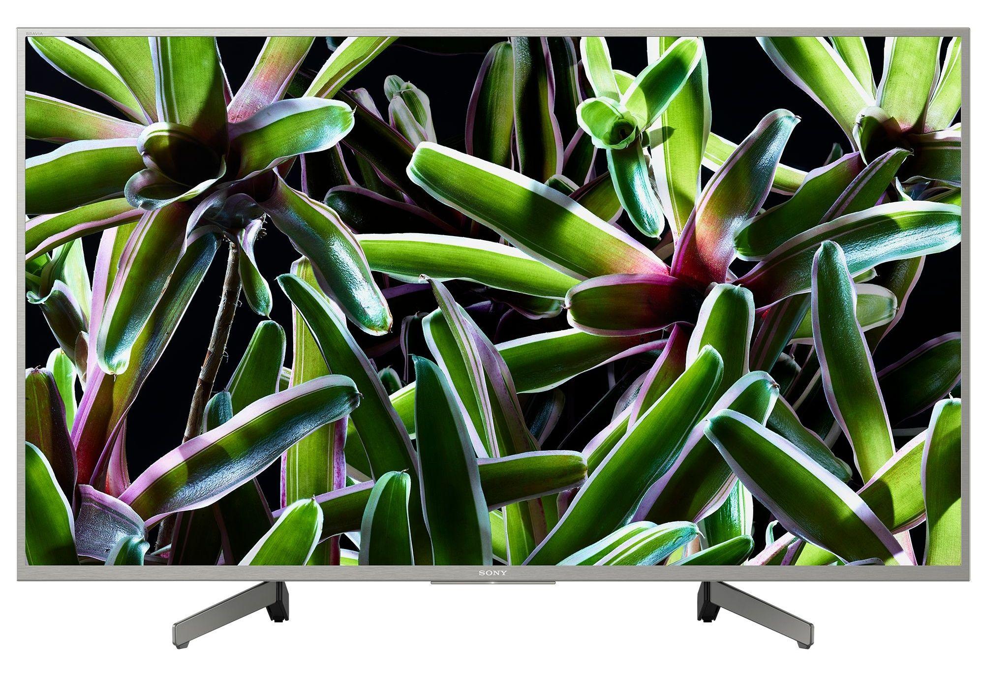 """Телевизор Sony - KD-43XG7077 43"""", 4K, HDR TV, BRAVIA, черен - 1"""