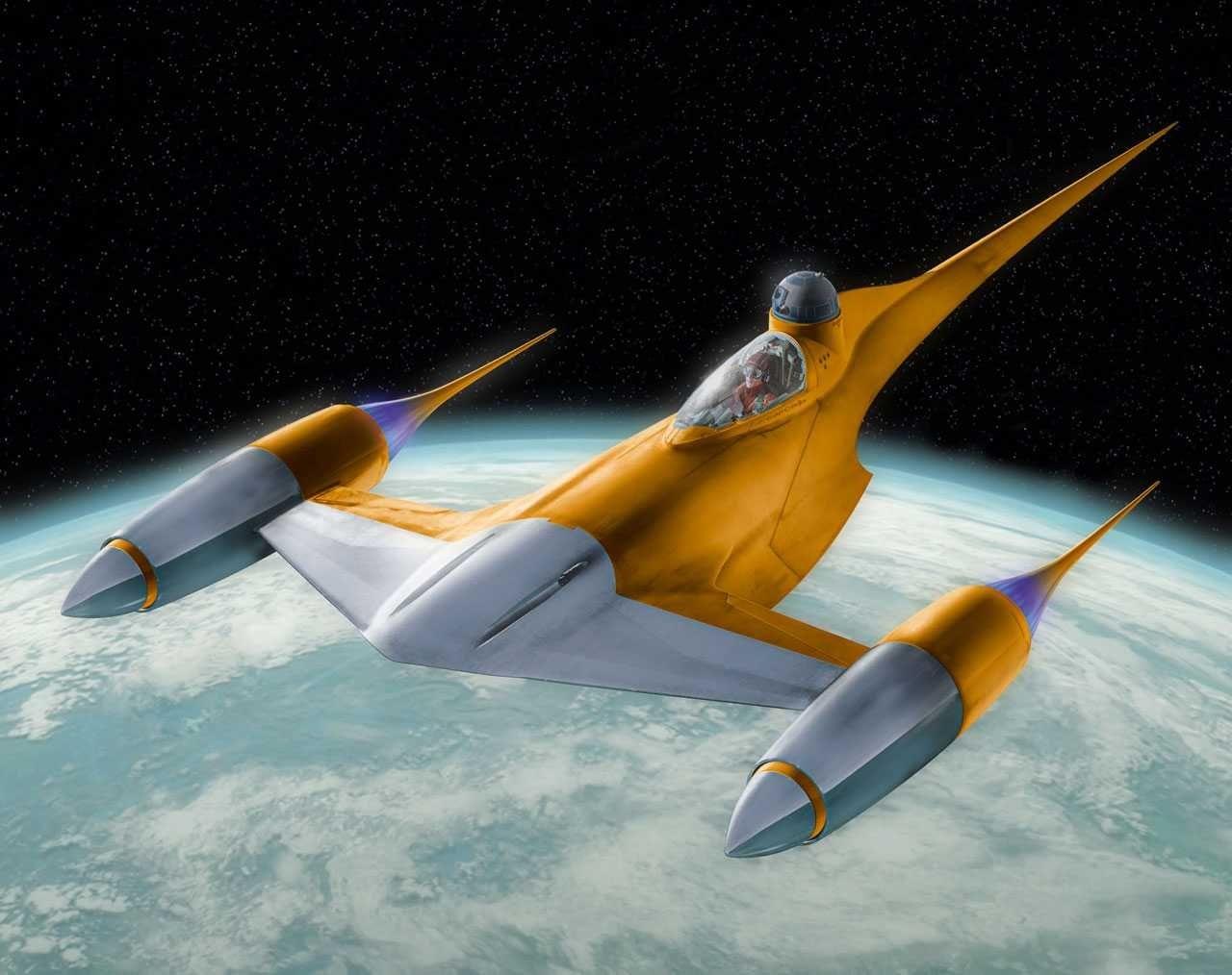 Сглобяем модел Revell - Naboo Starfighter - 3