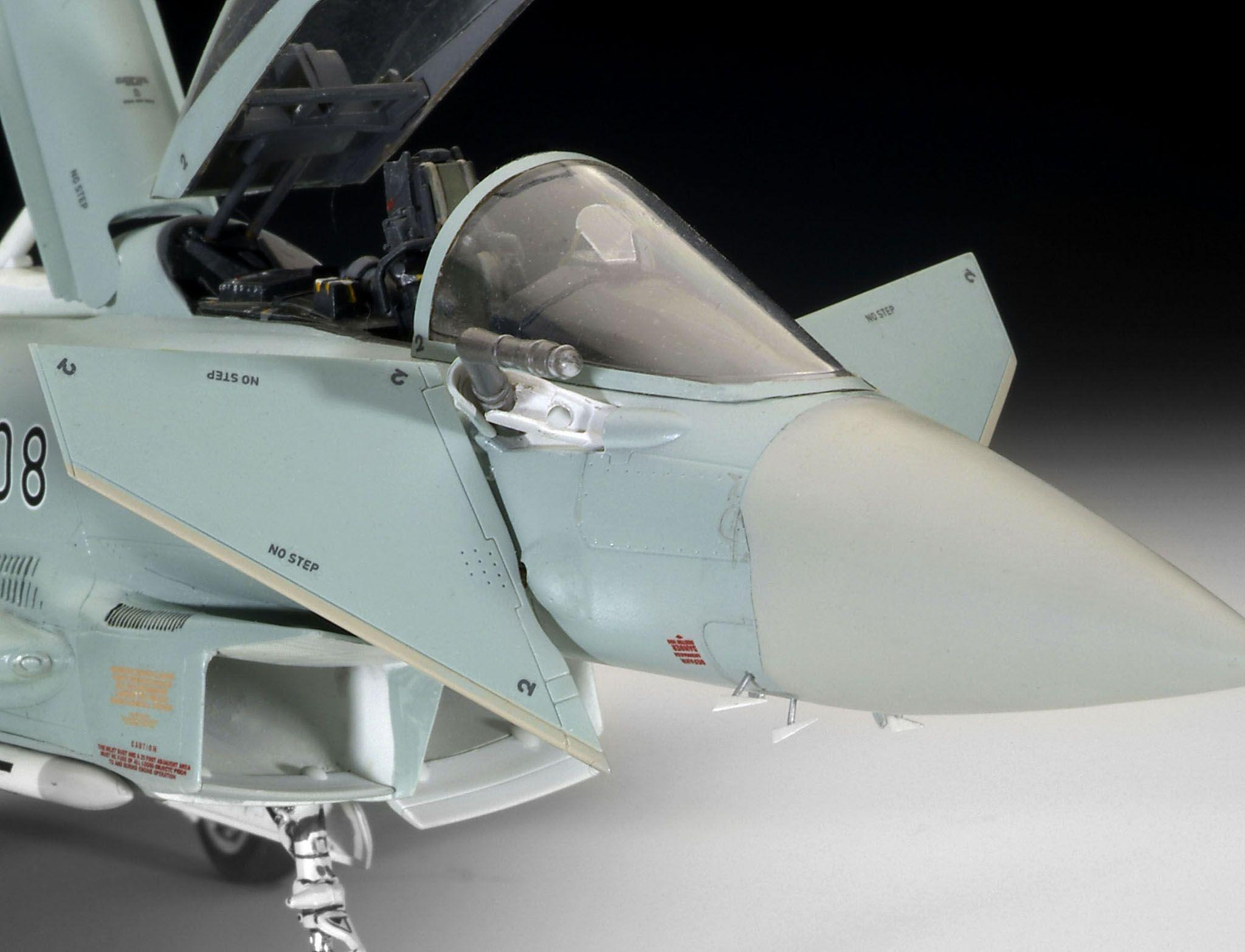 Сглобяем модел на изтребител Revell - Eurofighter TYPHOON (04568) - 3