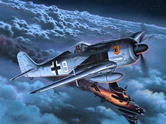 Сглобяем модел на военен самолет Revell - Focke Wulf Fw 190 A-8/R11 (04165) - 2