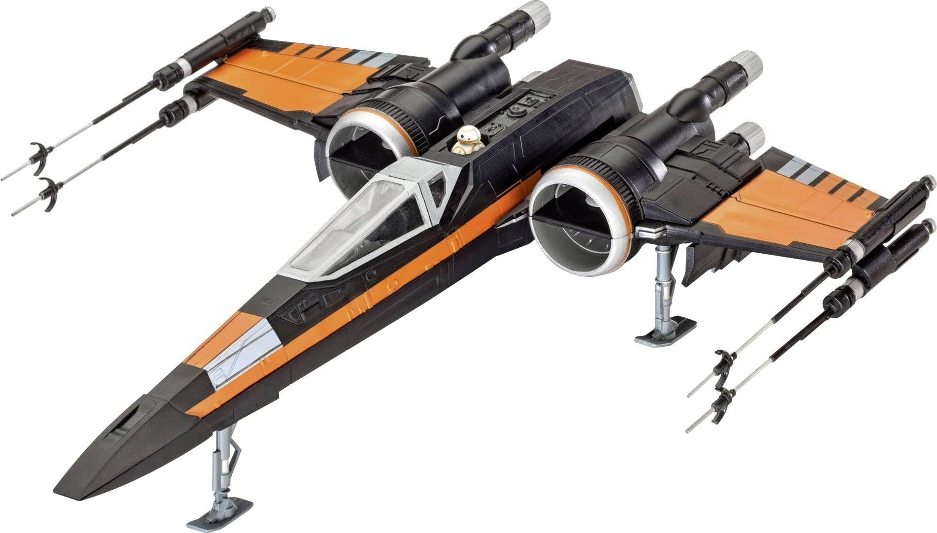 Сглобяем модел Revell - Poe's X-Wing Fighter - 1