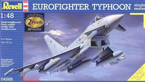 Сглобяем модел на изтребител Revell - Eurofighter TYPHOON (04568) - 4