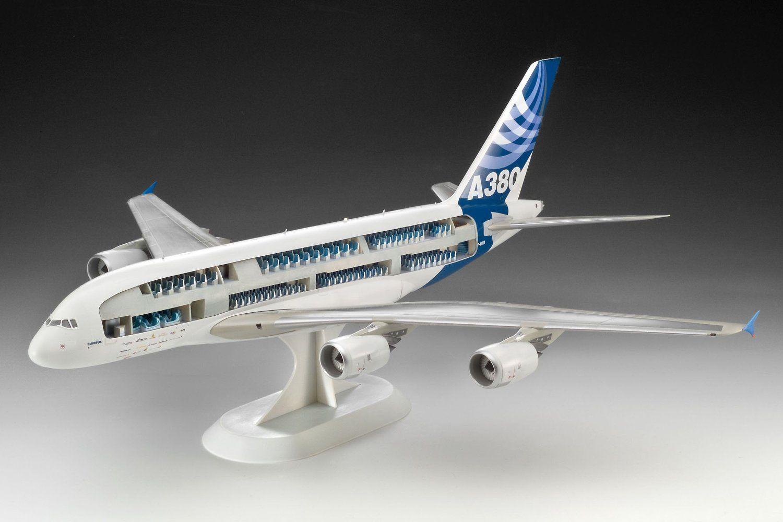 Сглобяем модел на самолет Revell - Airbus A380 & Interior (04259) - 2