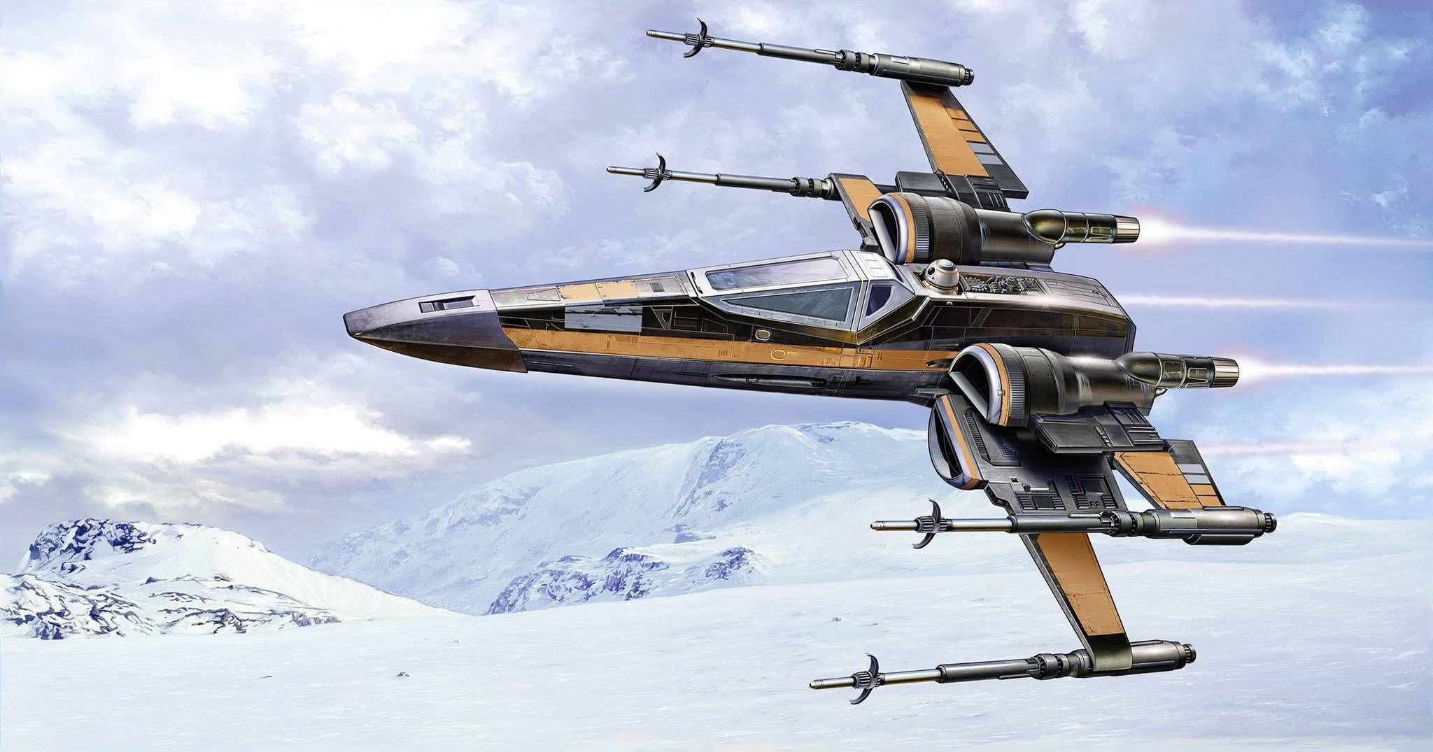 Сглобяем модел Revell - Poe's X-Wing Fighter - 3