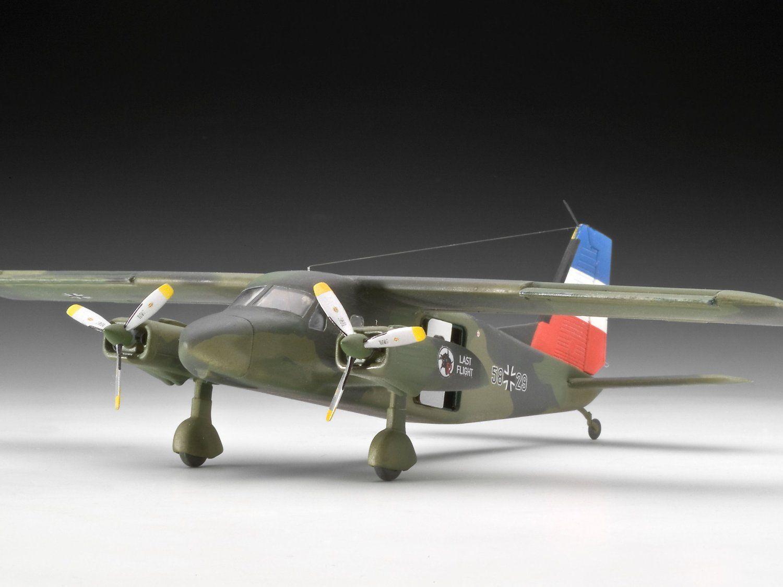 Сглобяем модел на военен самолет Revell - Dornier Do-28 (04193) - 3