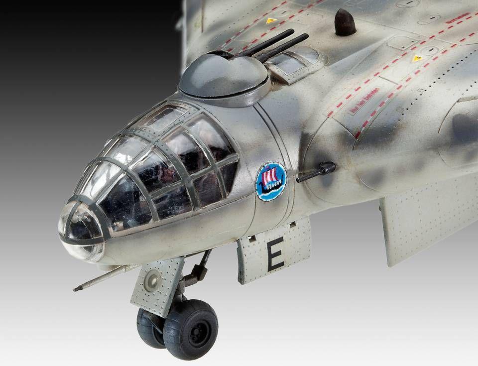 Сглобяем модел на военен самолет Revell - Arado Ar555 (04367) - 4