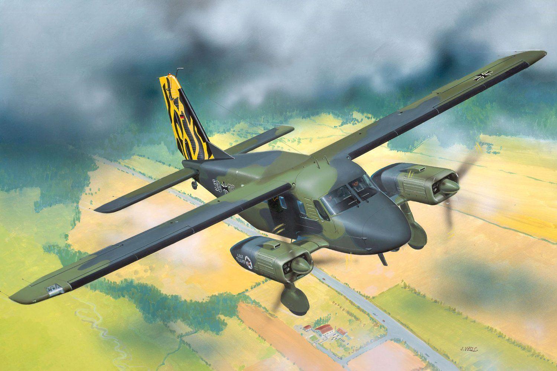 Сглобяем модел на военен самолет Revell - Dornier Do-28 (04193) - 2
