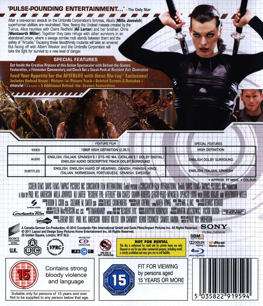 Resident Evil: Afterlife (Blu-Ray) - 2