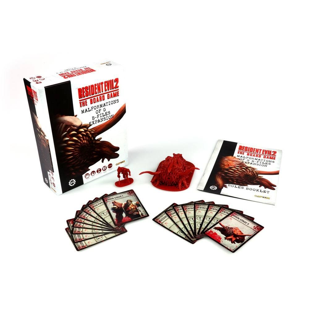 Разширение за Resident Evil 2 The Board Game - Malformations of G: B-Files - 1