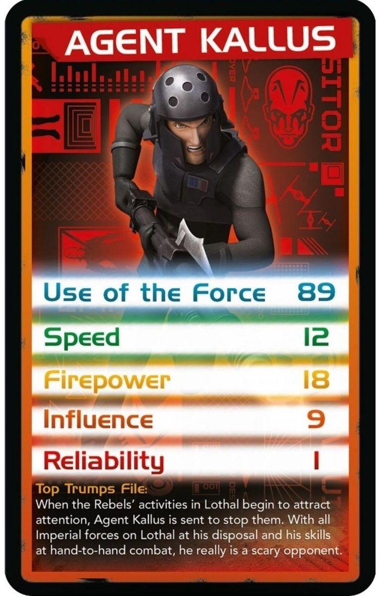Игра с карти Top Trumps - Star Wars Rebels - 4