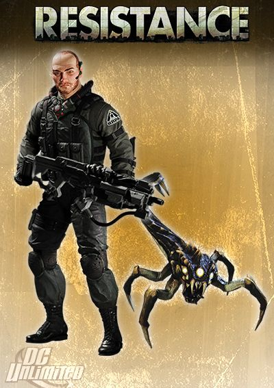 Resistance Series 1 Action Figure Nathan Hale with Swarmer 18 cm - 1