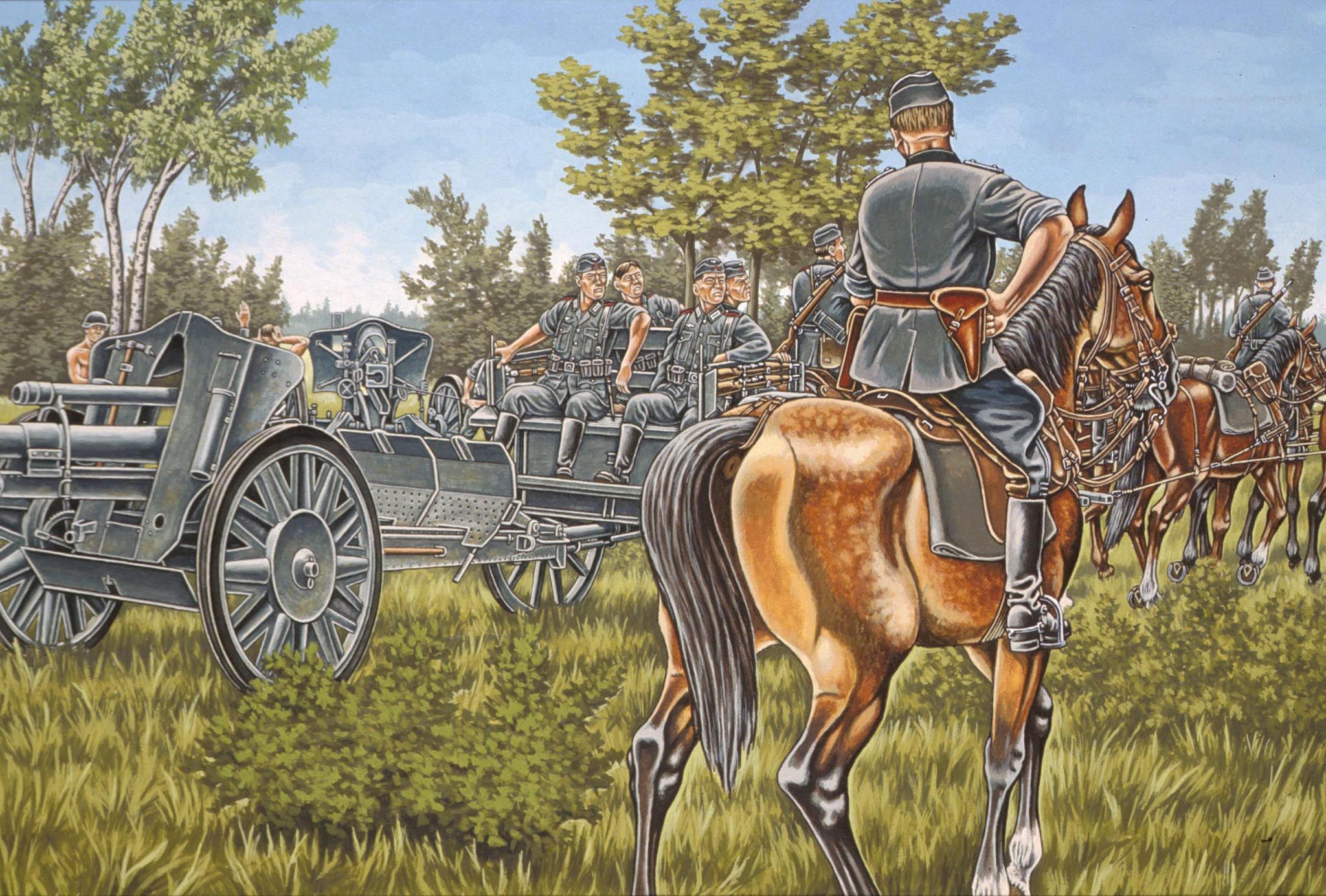 Фигури Revell - German Artillery WWII (02515) - 1