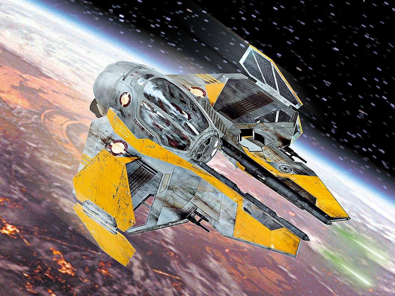 Сглобяем модел Revell - Anakin's Jedi Starfighter - 3